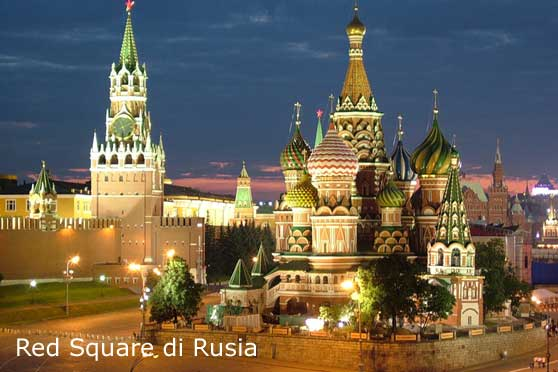 red square di rusia